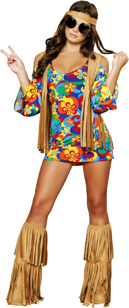 lovely woodstock outfit hippie women