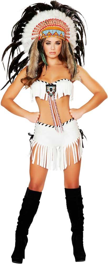 Tribal Princesse Sexy Halloween Amérindien Halloween-8599