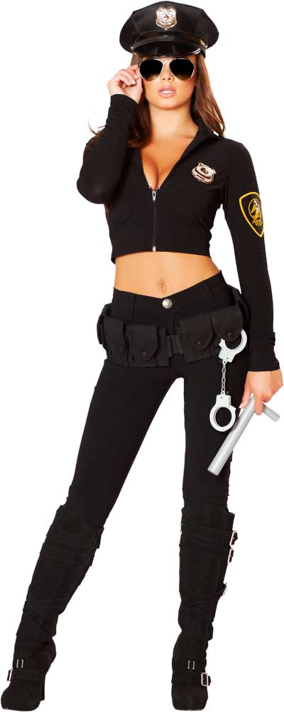 Sexy police officer halloween costume pics 42