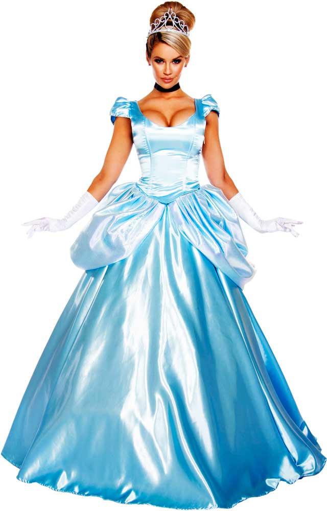 Beautiful Princess Cinderella Ball Gown Dress Fairy Tales