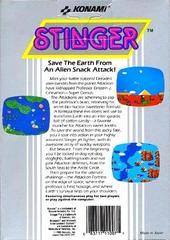 Stinger - Back | Stinger NES