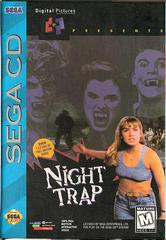 Night Trap Rerelease - Front  | Night Trap Sega CD