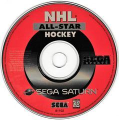 Game Disc   NHL All-Star Hockey Sega Saturn