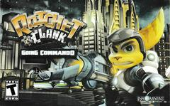 Manual - Front | Ratchet and Clank Going Commando Playstation 2