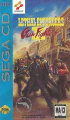 Lethal Enforcers II Gun Fighters - Front / Manual | Lethal Enforcers II Gun Fighters Sega CD