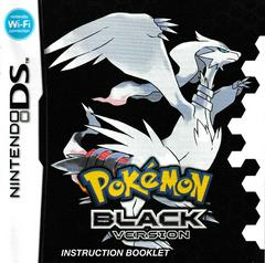 Manual - Front | Pokemon Black Nintendo DS