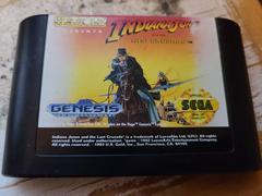 Cartridge (Front) | Indiana Jones and the Last Crusade Sega Genesis
