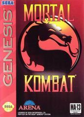 Front Cover | Mortal Kombat Sega Genesis