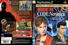 Artwork - Back, Front   Resident Evil Code Veronica X Playstation 2