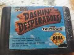 Cartridge (Front) | Dashin' Desperadoes Sega Genesis