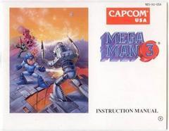 Mega Man 3 - Manual   Mega Man 3 NES