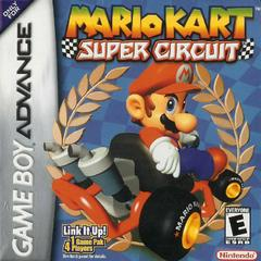 Front Cover | Mario Kart Super Circuit GameBoy Advance