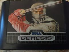 Cartridge (Front)   The Revenge of Shinobi Sega Genesis
