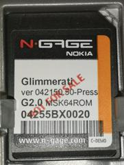 Cartridge | Glimmerati [Not for Resale] N-Gage