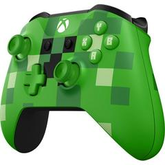 Front Right | Xbox One Minecraft Creeper Wireless Controller Xbox One