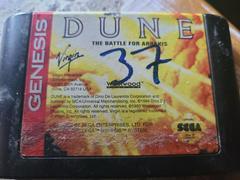 Cartridge (Front) | Dune The Battle for Arrakis Sega Genesis