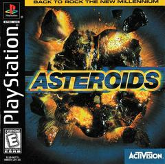 Manual - Front | Asteroids Playstation