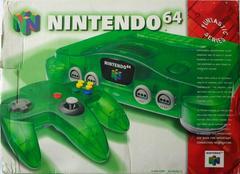 Front Cover | Funtastic Jungle Green Nintendo 64 System Nintendo 64