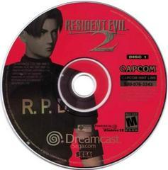 Disc 1 Leon | Resident Evil 2 Sega Dreamcast