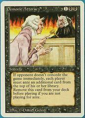 Demonic Attorney Magic Revised Prices