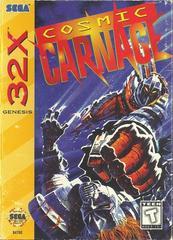 Cosmic Carnage - Front | Cosmic Carnage Sega 32X