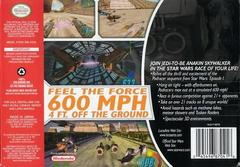 Back Cover | Star Wars Episode I Racer Nintendo 64