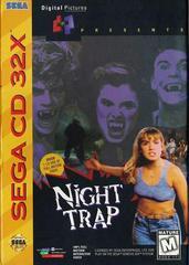 Night Trap - Front | Night Trap Sega 32X