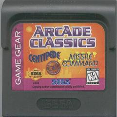 Arcade Classics - Cartridge | Arcade Classics Sega Game Gear