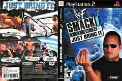 Artwork - Back, Front | WWF Smackdown Just Bring It Playstation 2