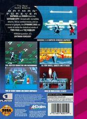 Batman Forever - Back | Batman Forever Sega Game Gear