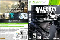 Slip Cover Scan By Canadian Brick Cafe | Call of Duty Ghosts Xbox 360