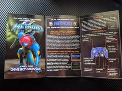 Metroid Fusion Ad - Back | Metroid Prime Gamecube