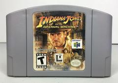 Cartridge | Indiana Jones Infernal Machine Nintendo 64