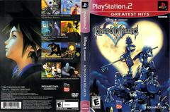 Slip Cover Scan By Canadian Brick Cafe | Kingdom Hearts Playstation 2