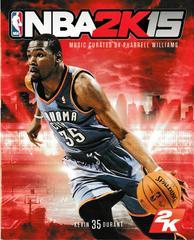 Manual - Front   NBA 2K15 Playstation 4