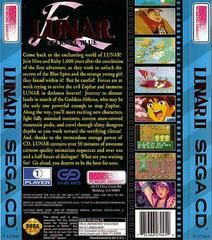 Lunar: Eternal Blue - Back | Lunar Eternal Blue Sega CD