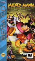 Mickey Mania - Front / Manual | Mickey Mania Sega CD