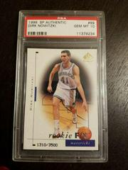 Dirk Nowitzki Basketball Cards 1998 SP Authentic Prices