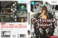 Artwork - Back, Front   Castlevania Judgment Wii
