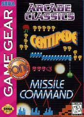 Arcade Classics - Front | Arcade Classics Sega Game Gear