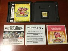 Inside Box With Instruction Manuals And Game | Kirby Super Star Ultra Nintendo DS