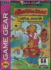Berenstain Bears Camping Adventures - Front | Berenstain Bears Camping Adventures Sega Game Gear