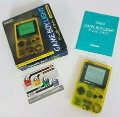 Gameboy Light [Toys R Us Clear Yellow] JP GameBoy Prices
