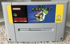 Cartridge | Super Mario World [Yellow Box] PAL Super Nintendo