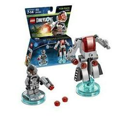 Cyborg | DC Comics - Cyborg [Fun Pack] Lego Dimensions