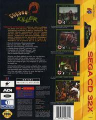 Corpse Killer - Back | Corpse Killer Sega 32X