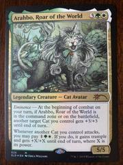 Arahbo, Roar of the World Magic Secret Lair Drop Series Prices