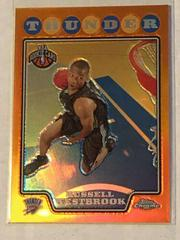 Russell Westbrook [Orange Refractor] Basketball Cards 2008 Topps Chrome Prices
