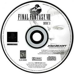 Game Disc 3 | Final Fantasy VIII Playstation