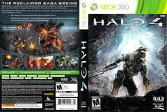 Slip Cover Scan By Canadian Brick Cafe | Halo 4 Xbox 360